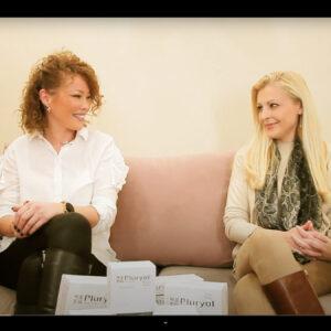 Dr Jelena Ilić i prof. Damjanka Đurić ex Kostić predstavljaju Pluryal Mesoline proizvode