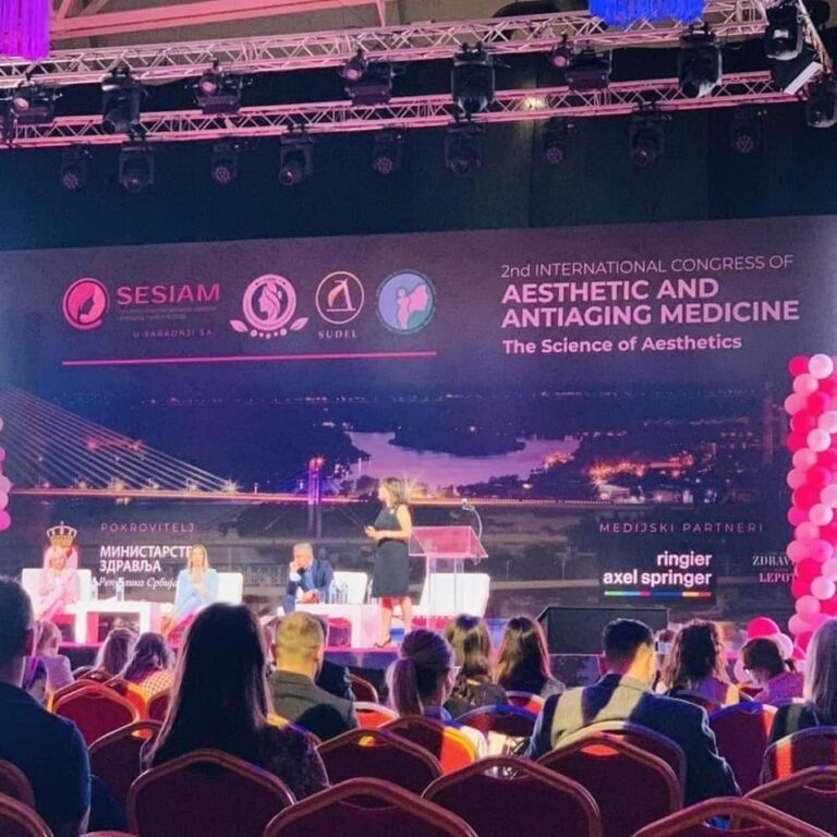 Pluryal Mesoline i Injectables proizvodi na 2nd International Congress of Aesthetic and Antiage Medicine u BelExpo centru u Beogradu.